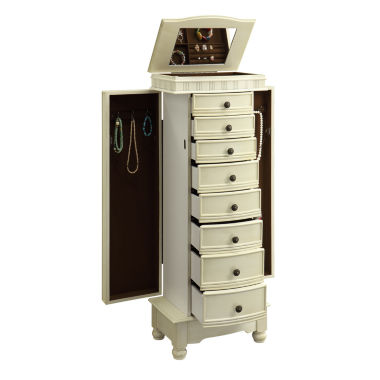 jcpenney.com | Painted Jewelry Armoire