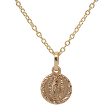 jcpenney.com | 14K Gold Our Lady of Guadalupe Pendant Necklace