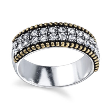 jcpenney.com | Sterling Silver Crystal Band Ring