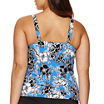 Trimshaper Floral Tankini Swimsuit Top-Plus