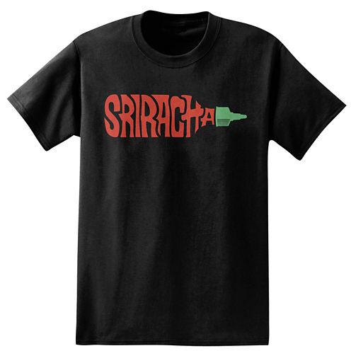 Sriracha Bottle T-Shirt