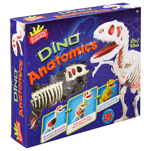 Scientific Explorer Anatomic T-Rex Dinosaur Model Kit 48-pc. Discovery Toy