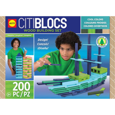 jcpenney.com | Citiblocs 200 Piece Cool Colored Discovery Toy