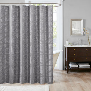 jcpenney.com | Madison Park Nico Jacquard Shower Curtain
