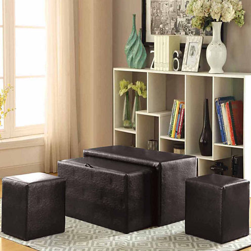 Tamial Contemporary Storage Bench