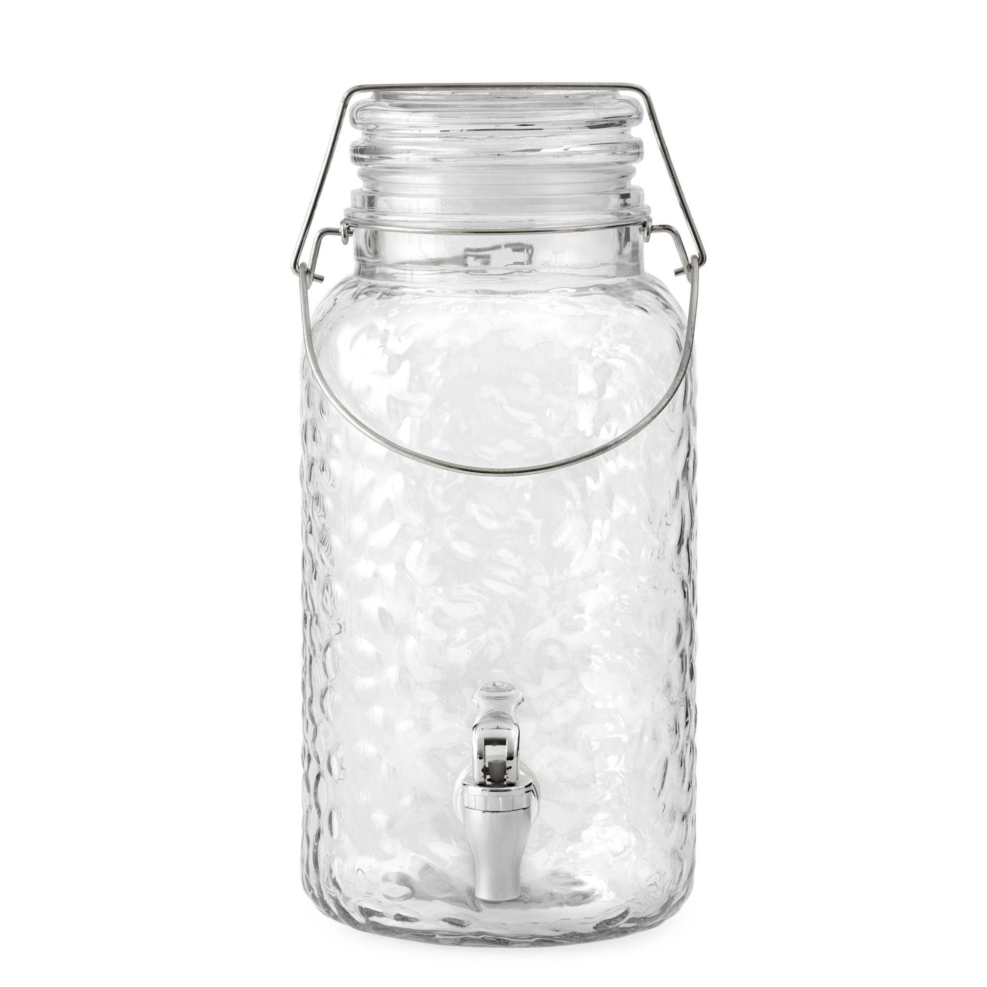 Home Essentials Hammered Beverage Dispenser