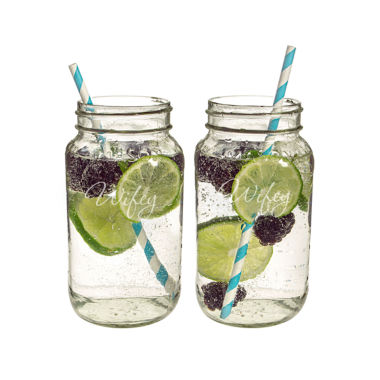 jcpenney.com | Cathy's Concepts 2-pc. Mason Jar
