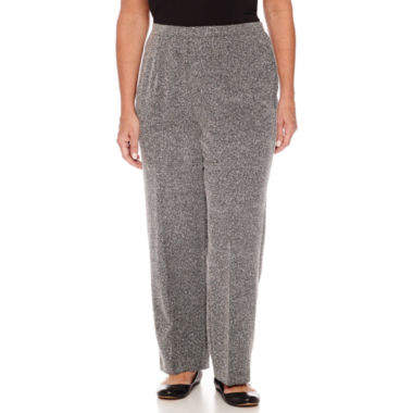jcpenney.com | Alfred Dunne Wrap It Up Woven Flat Front Pants-Plus Short