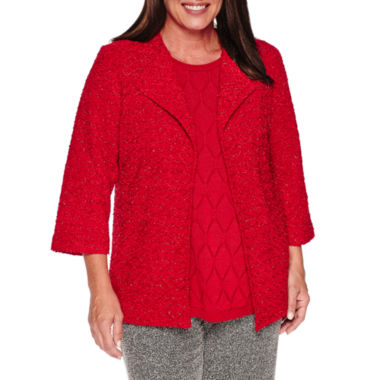 jcpenney.com | Alfred Dunner Wrap It Up Blazer-Plus