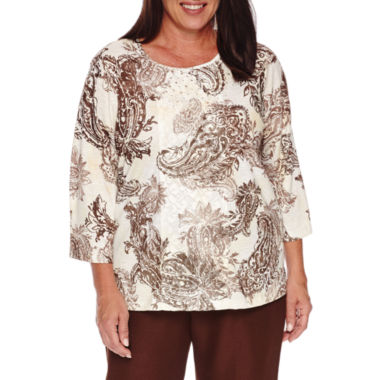 jcpenney.com | Alfred DunnerTwilight Point Tunic Top Plus