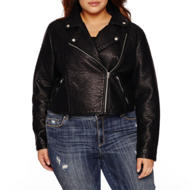 jcpenney.com | Belle + Sky Motorcycle Jacket-Plus