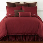 Royal Velvet® Colebrook 4-pc. Comforter Set & Accessories