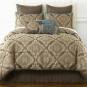 Nottingham 7-pc. Jacquard Comforter Set & Accessories