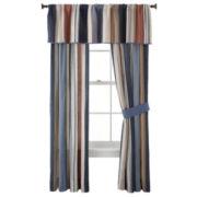 Desert Retro Chic Curtain Panel Pair