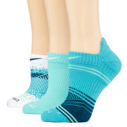 Nike® Dri-FIT 3-pk. Graphic No-Show Socks