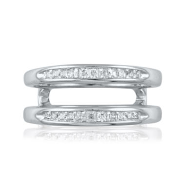 jcpenney.com | 3/8 CT. T.W. Diamond 14K White Gold Princess Ring