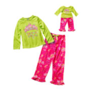 Dollie & Me Matching Long-Sleeve Pajama Set - Girls 4-12