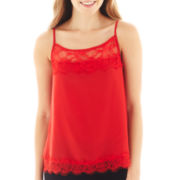 Lily Star Lace-Trim Cami