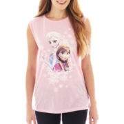 Disney Frozen Elsa & Anna Tunic Tank Top