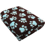 P.B. Paws by Park B. Smith™  World Paws Printed Throw