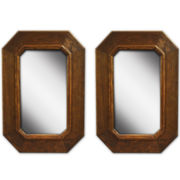 PTM Images™ Set of 2 No Corners Mirrors Wall Art