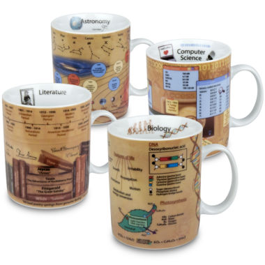 jcpenney.com | Konitz Knowledge II Set of 4 Mugs