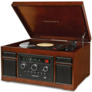 Crosley Patriarch 4-in-1 Entertainment Center
