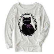 Total Girl® Tunic Sweatshirt - Girls 6-16 and Plus