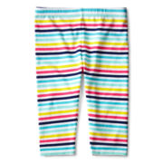 Okie Dokie® Print Capris - Girls 2t-6
