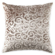JCPenney Home™ Velvet Scroll Decorative Pillow