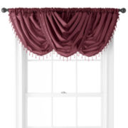 Royal Velvet® Encore Rod-Pocket Waterfall Valance