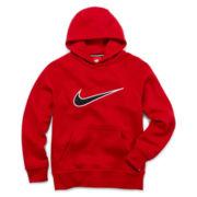Nike® Swoosh Mesh Hoodie – Boys 8-20