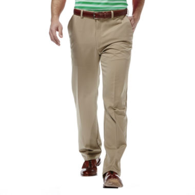 jcpenney.com | Haggar® Cool 18® Classic-Fit Flat-Front Pants