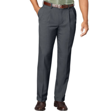 jcpenney.com | Van Heusen® No-Iron Extender Pleated Pants - Big & Tall
