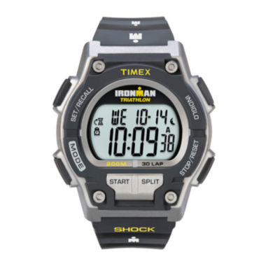 jcpenney.com | Timex® Ironman Endure Mens Black Resin Strap 30-Lap Watch T5K1959J
