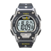 Timex® Ironman Endure Mens Black Resin Strap 30-Lap Watch T5K1959J