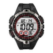 Marathon by Timex® Mens Black Resin Strap Digital Watch T5K423M6