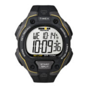Timex® Mens Black Resin Strap 50-Lap Watch T5K4949J
