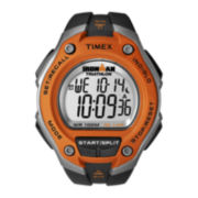 Timex® Ironman Mens Black Resin Strap 30-Lap Watch T5K5299J