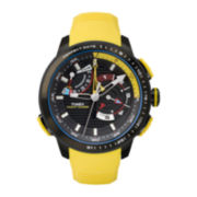 Timex® IQ Adventure Mens Yellow Silicone Strap Chronograph Watch TW2P44500ZA