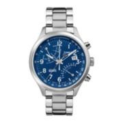 Timex® IQ Classic Mens Stainless Steel Chronograph Watch TW2P60600AB