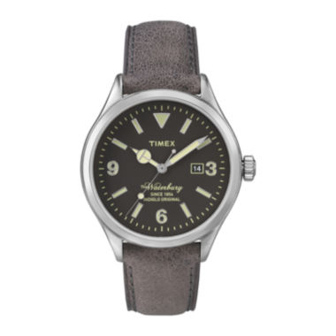 jcpenney.com | Timex® Originals Modern Mens Brown Leather Strap Watch TW2P75000AB