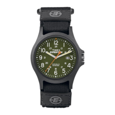 jcpenney.com | Timex® Expedition® Camper Mens Black Fabric Strap Watch TW4B001009J