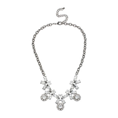 jcpenney.com | Mixit™ Crystal Flower Statement Necklace