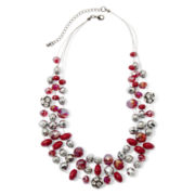 Mixit™ 3-Row Illusion Fireball Necklace