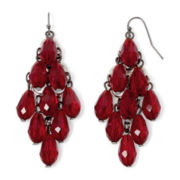 Mixit™ Red Bead Kite Earrings