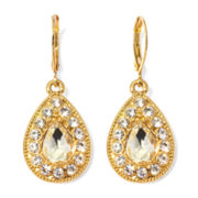Monet® Crystal Drop Earrings
