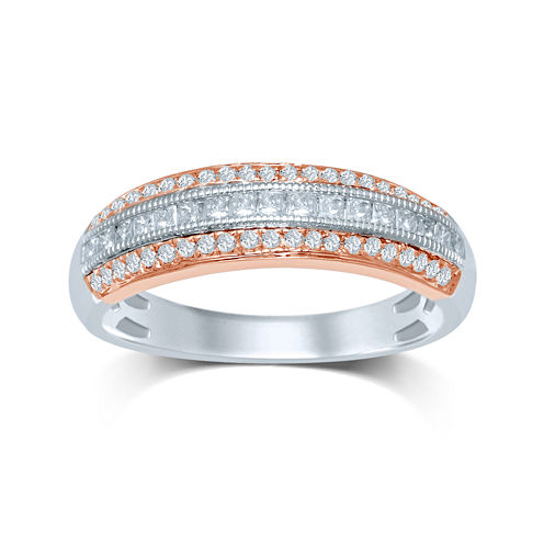 LIMITED QUANTITIES 1/2 CT. T.W. Diamond Milgrain Ring