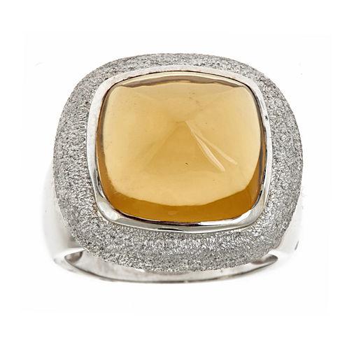 LIMITED QUANTITIES  Genuine Lemon Yellow Quartz Ring