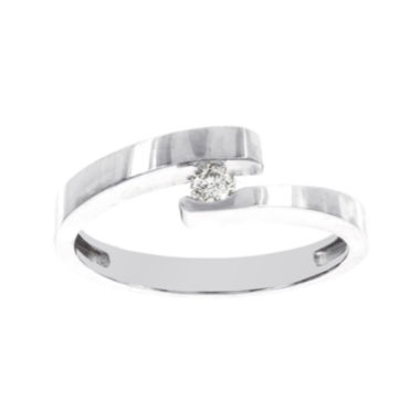 jcpenney.com | 1/10 CT. T.W. Diamond 14K White Gold Promise Ring